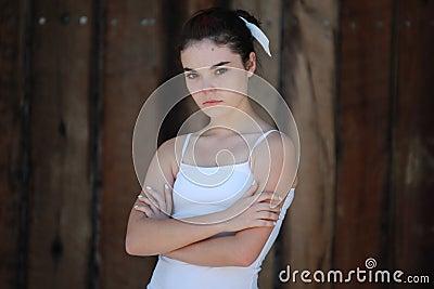 Angry Sad Teen Girl