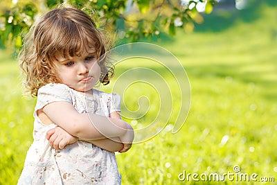 Unhappy toddler