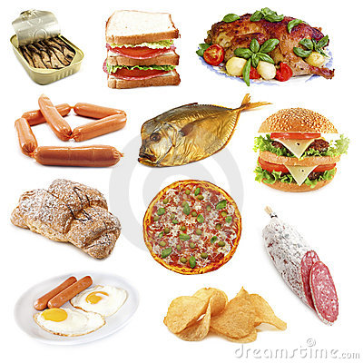 Free Unhealthly_food Royalty Free Stock Photography - 9523777