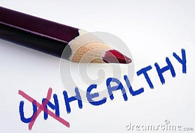 Unhealthy word