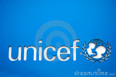 Unicef symbol Editorial Image
