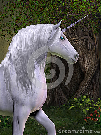 Unicorn Horse Royalty Free Stock Image Image 32370566
