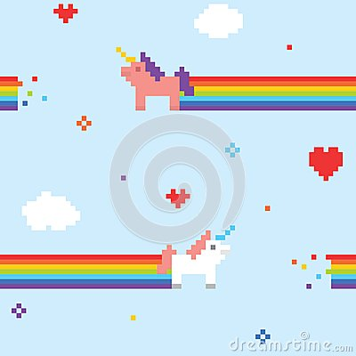 Free Unicorn Pattern Royalty Free Stock Photography - 47085387