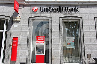 Unicredit Bank Editorial Stock Photo