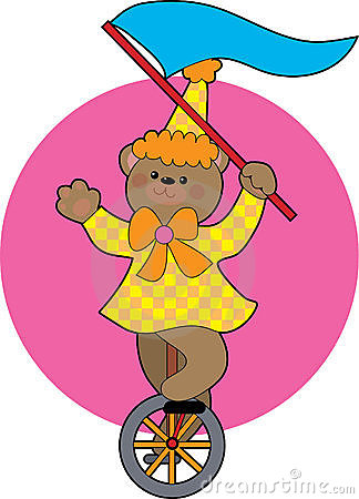 Unicycle Bear