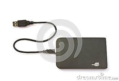 Unidad de disco duro externa portátil