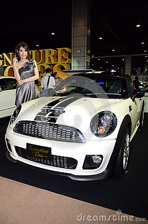 Unidentified females presenter at Signature Car Editorial Photography