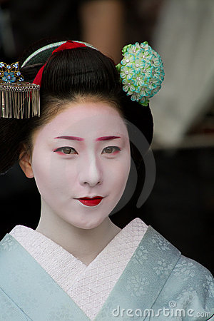 Unidentified Maiko on  Editorial Stock Photo