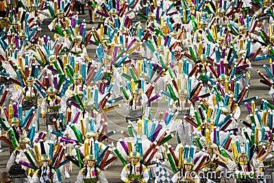 Unidos da Tijuca Editorial Stock Photo