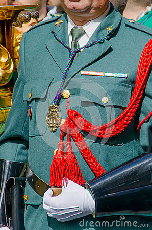 Free Uniform Guardia Civil Royalty Free Stock Image - 52391616