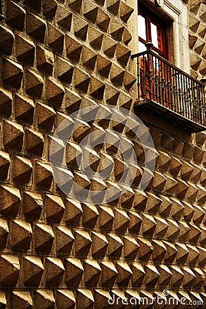 Unikalny zirytowany architektoniczny projekt