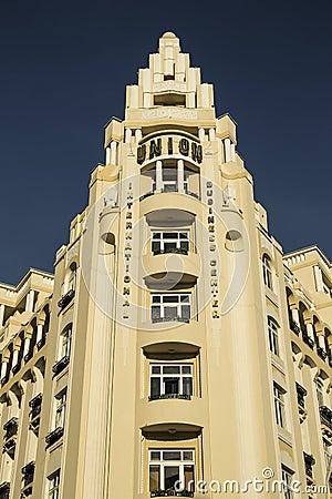 Unión del hotel Foto de archivo editorial
