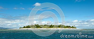 Uninhabited remote island part of Fiji