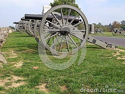 Union Canons-Gettysburg