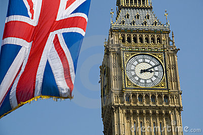 Union Flag and Big Ben