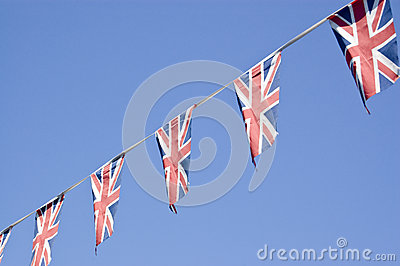 Union Flag Bunting, England