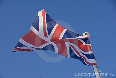 Union Flag of the united Kingdom..