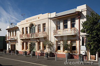 The Union Hotel, Napier Editorial Photography