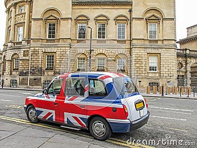 Union Jack cab