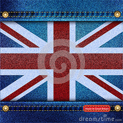Union Jack denim
