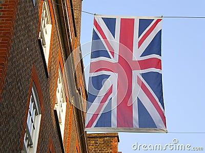Union-Jack flag  city of London