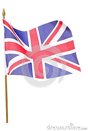 Union jack flag cutout