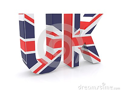 Union Jack flag sign