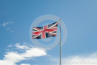 Union Jack (Union Flag) of Great Britain