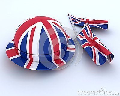 Union Jack Jubilee Hat and  Flag