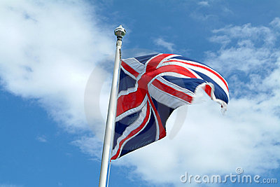 Union Jack In Motion