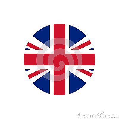 Free Union Jack Round Button Royalty Free Stock Photography - 103307057