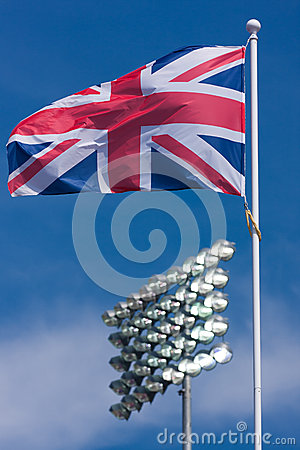 Union Jack and Sports Floodlights