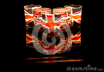 Union Jack Tealights