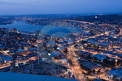 Union Lake in Seattle