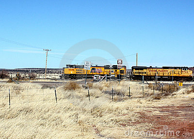 Union pacific on route 66