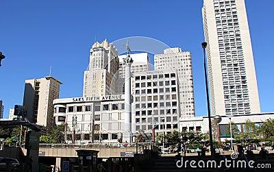 Union Square Editorial Stock Photo