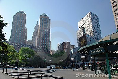 Union square - New York City Editorial Stock Image