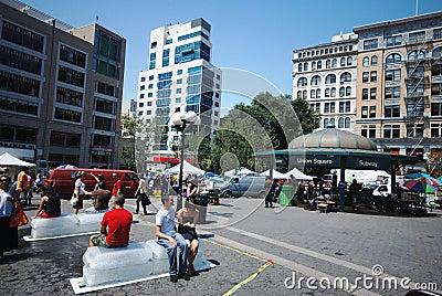 Union square - New York City Editorial Stock Photo