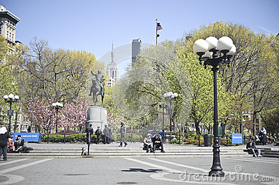 Union Square Park Editorial Stock Photo