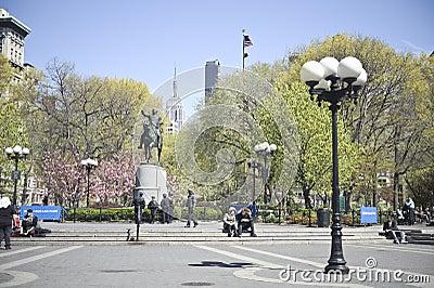 Union Square Park Editorial Stock Photo