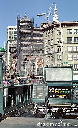 Union Square Station NYC USA