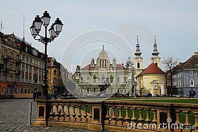 Union square Timisoara,Romania