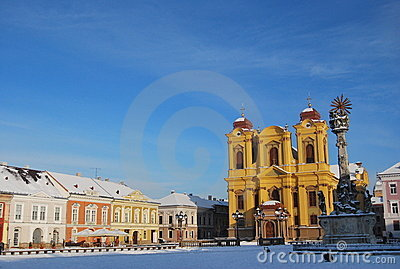 Union Square,Timisoara, Romania