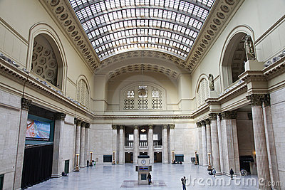 Union Station - Chicago, Ill. Editorial Stock Photo