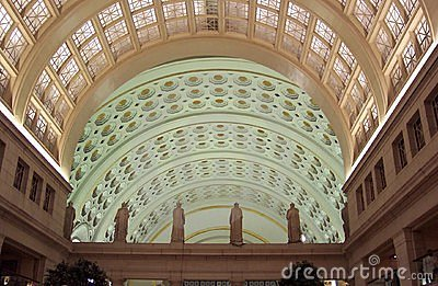 Union Station Interior Stock Photo