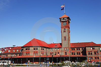 Union station Portland Oregon.