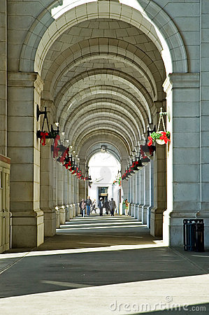 Union Station Sidewalk - Washington DC
