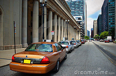 Union Station taxicab rank