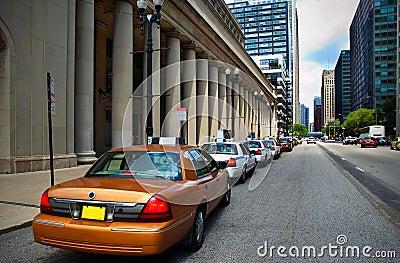 Union Station taxicab rank