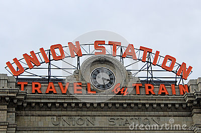 Union Station Editorial Stock Image